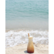 Bambusz szívószál készlet (6db) tasakban - Málna