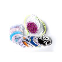 Emilla mosható arctisztító párna szett táskával (14 db)