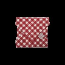 Cibi Újraszalvéta - Kockás piros