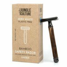 Bambusz biztonsági borotva - vékony, sötét