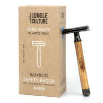 Bambusz biztonsági borotva - vékony, világos