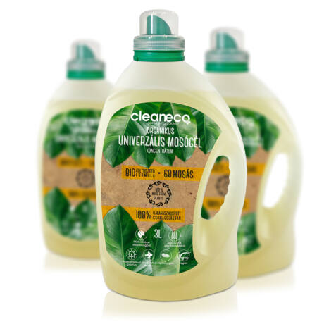 Cleaneco organikus univerzális mosógél