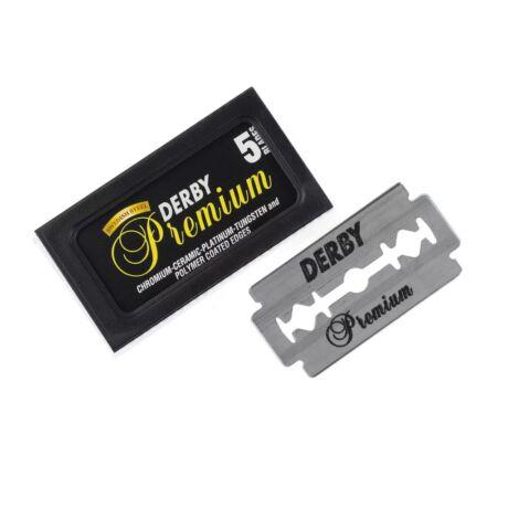 Derby Premium borotvapenge - 5 db