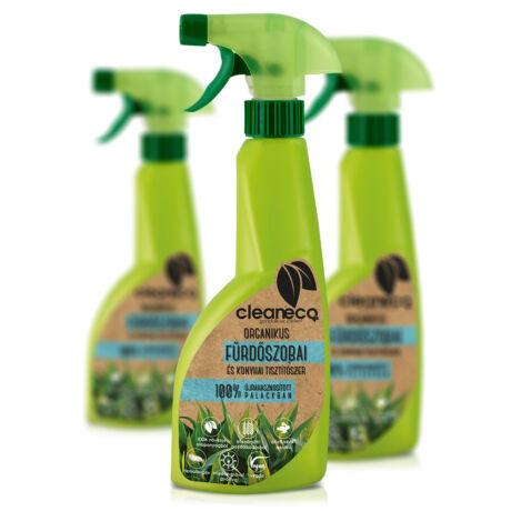Cleaneco organikus fürdőszobai és konyhai tisztítószer