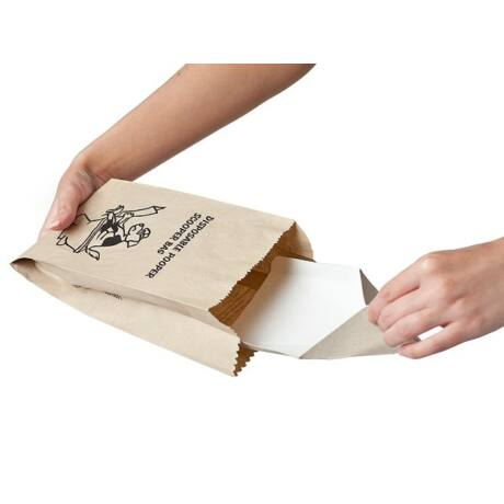 Lebomló kutyakaki gyűjtő zacskó, újrahasznosított papírból - 25 db