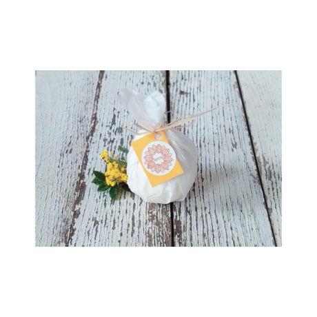 Napvirág fürdőgolyó - Édes narancs - 90g