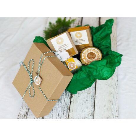 Napvirág ajándékcsomag 4 termékkel