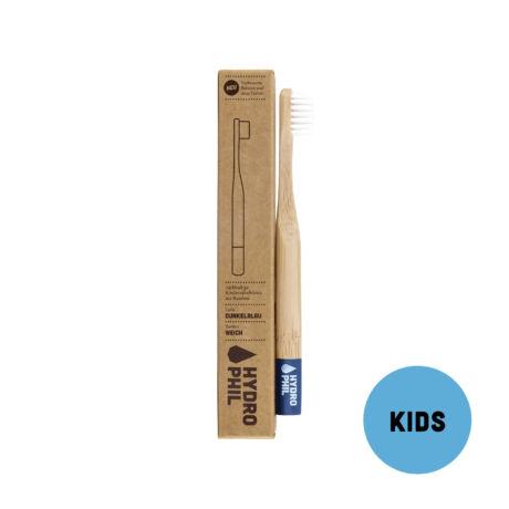 Hydrophil Gyermek bambusz fogkefe puha sörtével - kék