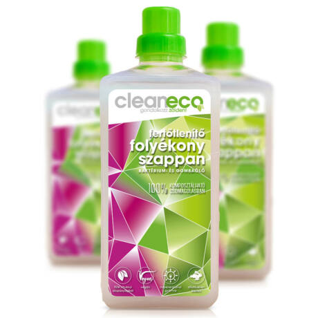 Cleaneco fertőtlenítő folyékony szappan