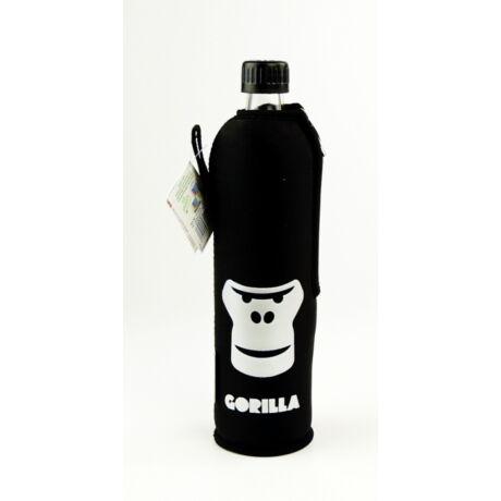 DORAS Üvegkulacs Gorilla, neoprén huzattal - 500ml