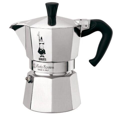 Moka Express Kotyogós kávéfőző, 3 adag