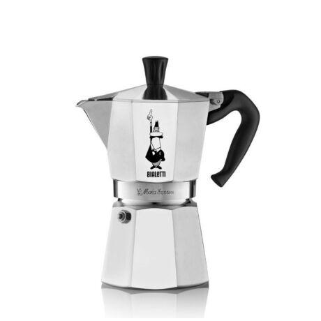Moka Express Kotyogós kávéfőző, 6 adag