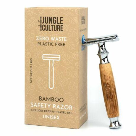 Bambusz biztonsági borotva - vastag, világos